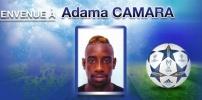 Nouvelle recrue 2014/2015 : Adama CAMARA