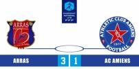 ARRAS FA / AC AMIENS : 3-1