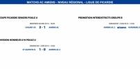 Matchs de la Ligue - 28 Mai et 1er Juin