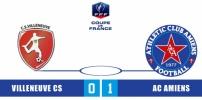 VILLENEUVE CS / AC AMIENS : 0-1