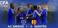 AC AMIENS / MANTES : 1-0