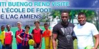 Entraînement avec Titi BUENGO à l'École de Foot de l'AC AMIENS