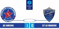 Championnat U19 National 2014-2015 - AC AMIENS / ST LO MANCHE : 1-0