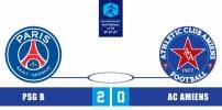 Championnat U19 National 2014-2015 - PSG B / AC AMIENS : 2-0