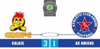 CALAIS RUFC / AC AMIENS : 3-1
