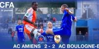 AC AMIENS / BOULOGNE-BILLANCOURT : 2-2