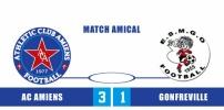 AC AMIENS - GONFREVILLE : 3-1
