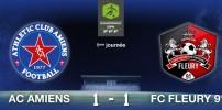 Reprise du Championnat : AC AMIENS / FC FLEURY 91