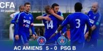 AC AMIENS / PSG B : 5-0