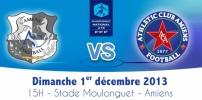 Championnat U19 National 2013-2014 - AMIENS SC 1-1 AC AMIENS