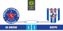 AC AMIENS / FC DIEPPE : 1-1