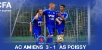 AC AMIENS / AS POISSY : 3-1