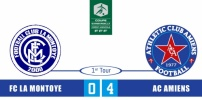 FC LA MONTOYE / AC AMIENS : 0-4