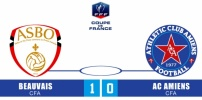 BEAUVAIS / AC AMIENS : 1-0 (prolongations)