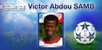 Nouvelle recrue 2014/2015 : Victor Abdou SAMB