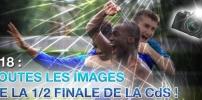 Toutes les images de la 1/2 Finale de la Coupe de la Somme U18