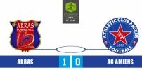 ARRAS FA / AC AMIENS : 1-0