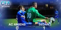 AC AMIENS / SEDAN : 0-1