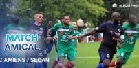 Match amical AC AMIENS / SEDAN : 1-2