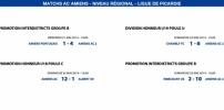 Matchs de la Ligue - 21 et 25 Mai