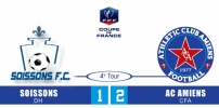 SOISSONS FC / AC AMIENS : 1-2