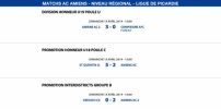 Matchs de la Ligue - Weekend du 12 et 13 Avril