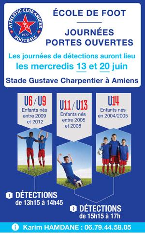 École de Foot AC Amiens - Portes Ouvertes 2018