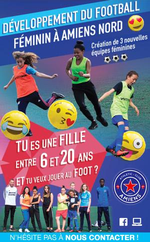 AC AMIENS - Développement du Football Féminin à Amiens Nord