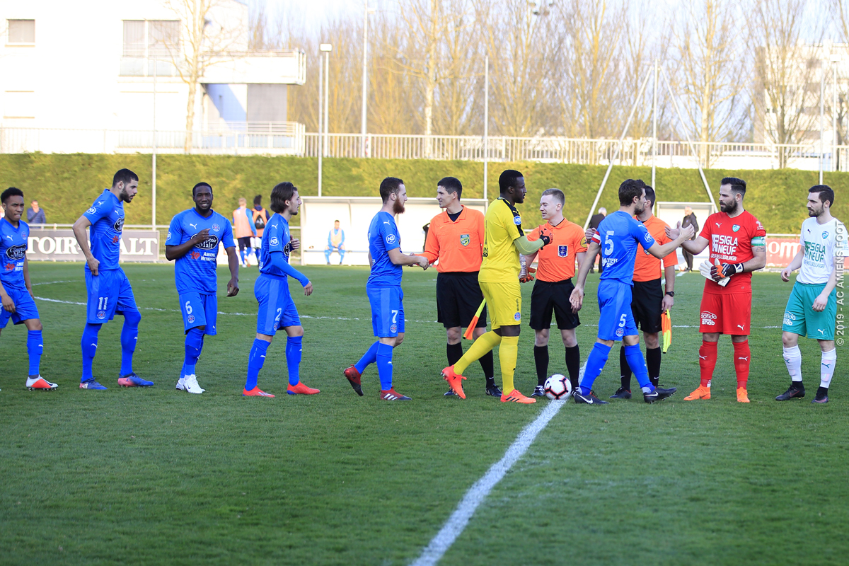 National 3 - AC AMIENS / LE TOUQUET ACFCO