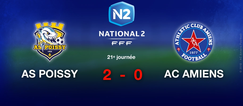 AS POISSY / AC AMIENS : 2-0