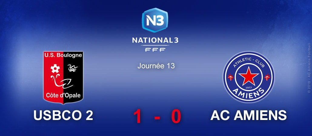 US BOULOGNE CO 2 / AC AMIENS (0-1)