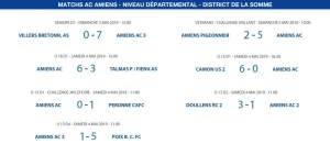 Matchs de District - 4 et 5 mai