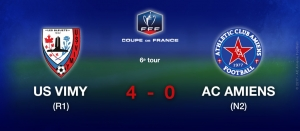 Coupe de France - US VIGNY / AC AMIENS (4-0)