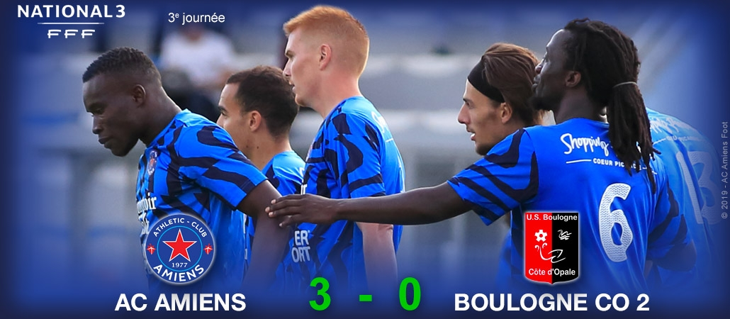 N3 : AC AMIENS / US BOULOGNE CO 2 (3-0)