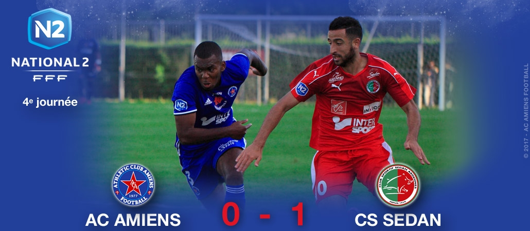 AC AMIENS / CS SEDAN : 0-1