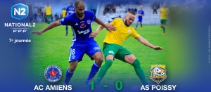 AC AMIENS / AS POISSY : 1-0