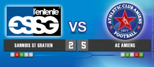 ENTENTE SSG / AC AMIENS : 2-5