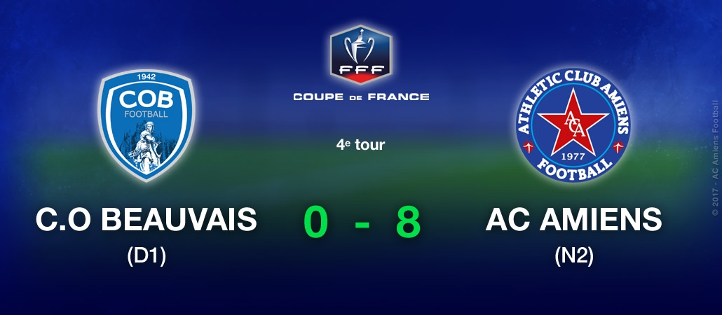 Coupe de France - C.O. BEAUVAIS / AC AMIENS (0-8)