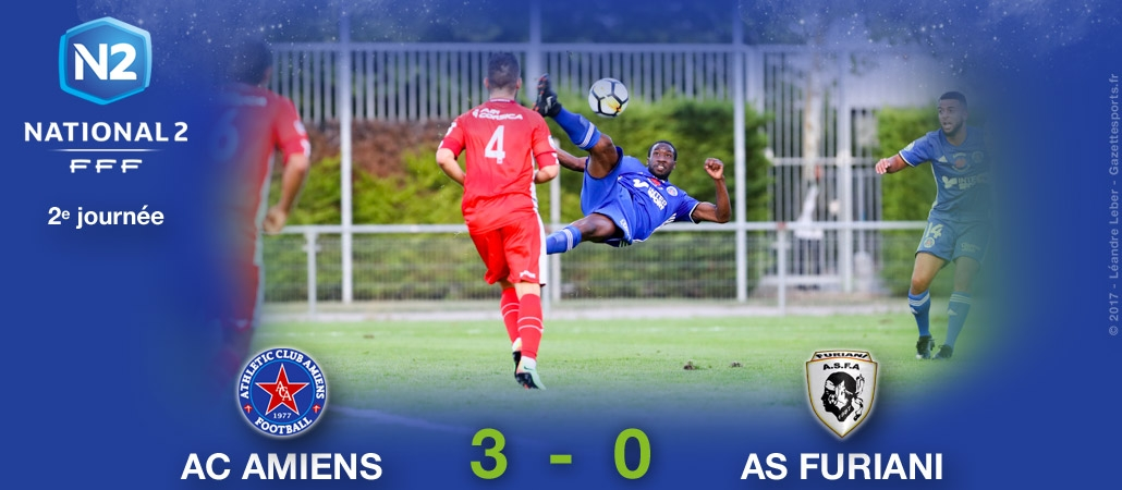 AC AMIENS / AS FURIANI : 3-0