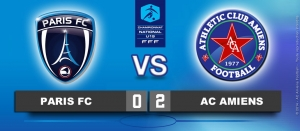 Championnat U19 National 2013-2014 - PARIS FC / AC AMIENS : 0-2