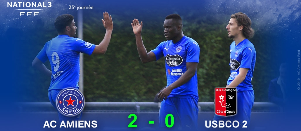 N3 : AC AMIENS / US BOULOGNE CO 2 (2-0)