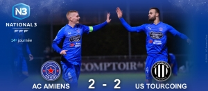 N3 : AC AMIENS / US TOURCOING (2-2)