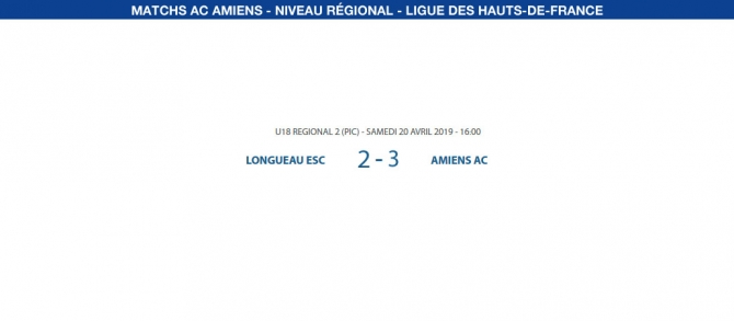 Matchs de la Ligue - 20 avril