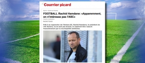 ARTICLE DANS LE COURRIER PICARD