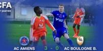 AC AMIENS / ACBB : 3-0