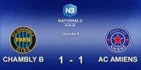 N3 : CHAMBLY B / AC AMIENS (1-1)