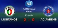 LUSITANOS / AC AMIENS : 2-0