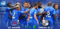 N3 : AC AMIENS / ASC B (1-0)