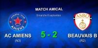 AMICAUX : AC AMIENS / AS BEAUVAIS B (5-2)