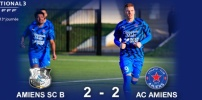 N3 : AMIENS SC B / AC AMIENS (2-2)